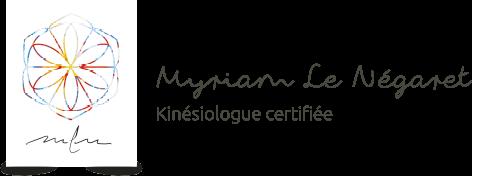 Kinesiologue Myriam Le Négaret, Reiki, Reflexes archaiques, Maurepas, Elancourt Logo